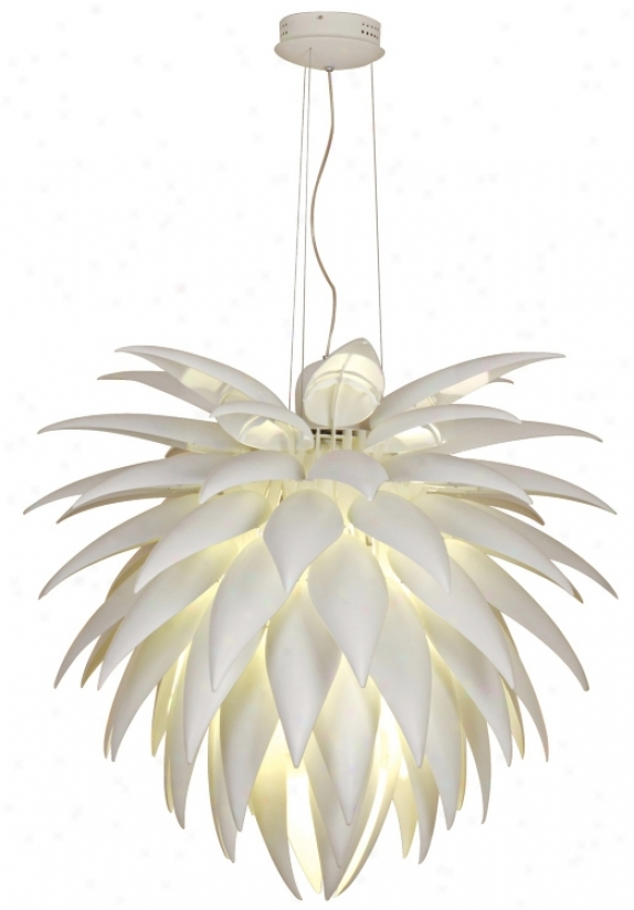 Possini Euro Design Icicle Leaf Chandelier (35642)