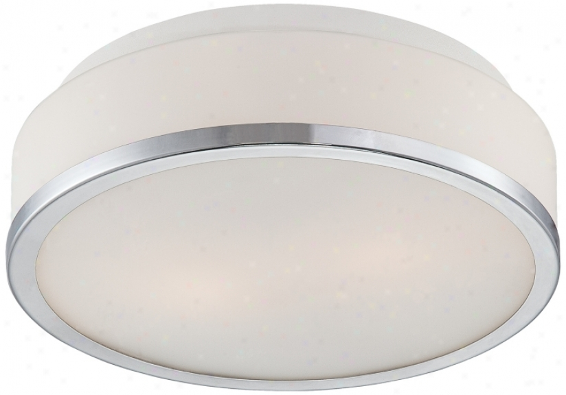 "Possini Euro Design Opal Glass 10 1/4"" Wide Ceiling Light (m3350) ."