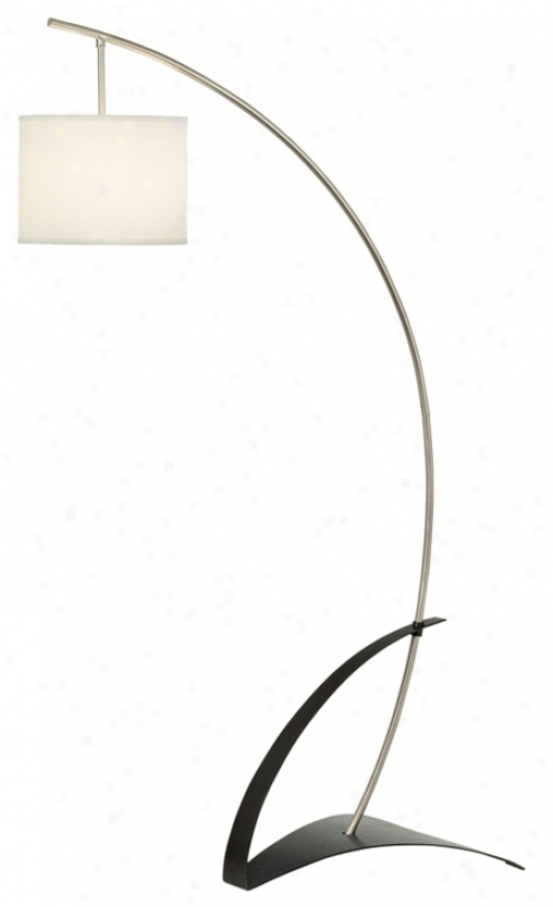 Possini Euro Geometric Arc Floor Lamp (19579)