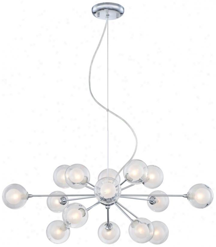 Possini Glass Orbs15-light Ear-ring Chandelier (p4847)