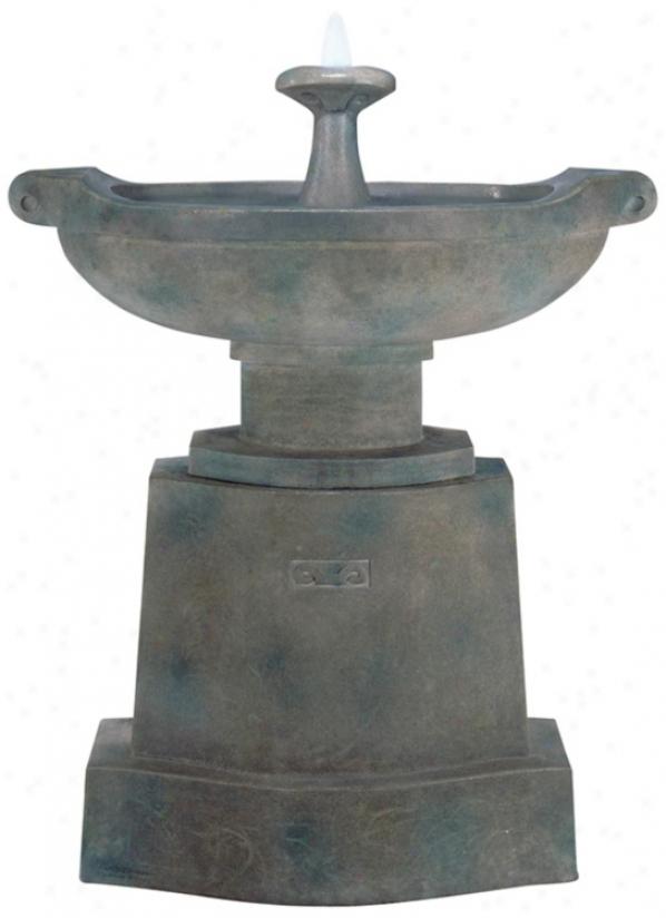 Prairie Urn Basin Fountain (79472)