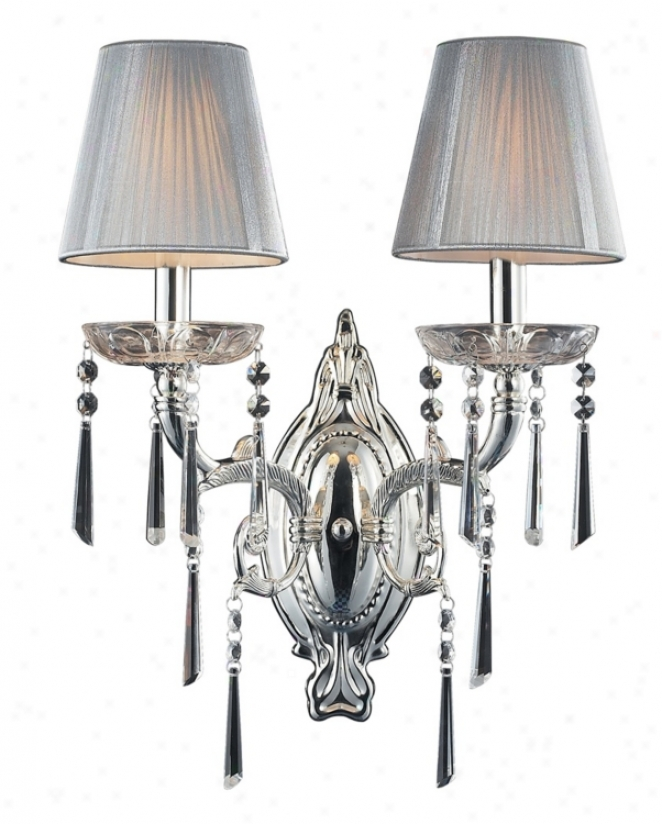 "Princess Assemblage 14"" High 2-light Wall Sconce (k2893)"