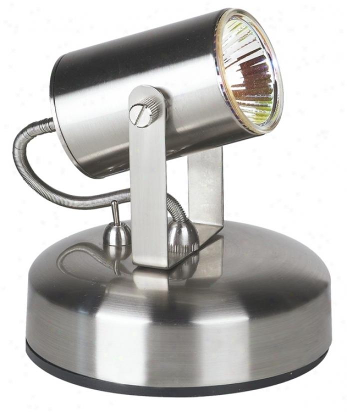 Pro Track&qmp;#174; Brushed Steel Halogen Uplight (68239)