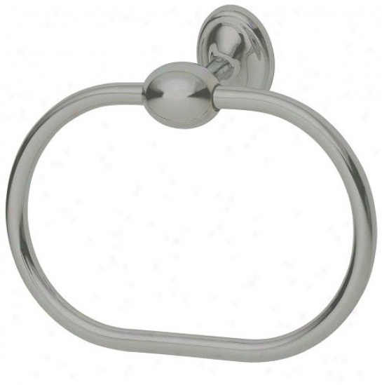 Profile Collection Satin Nickel Toowel Ring (82947)
