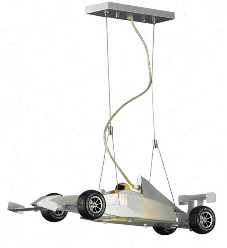 Race Car Pendant Chandelier (40345)