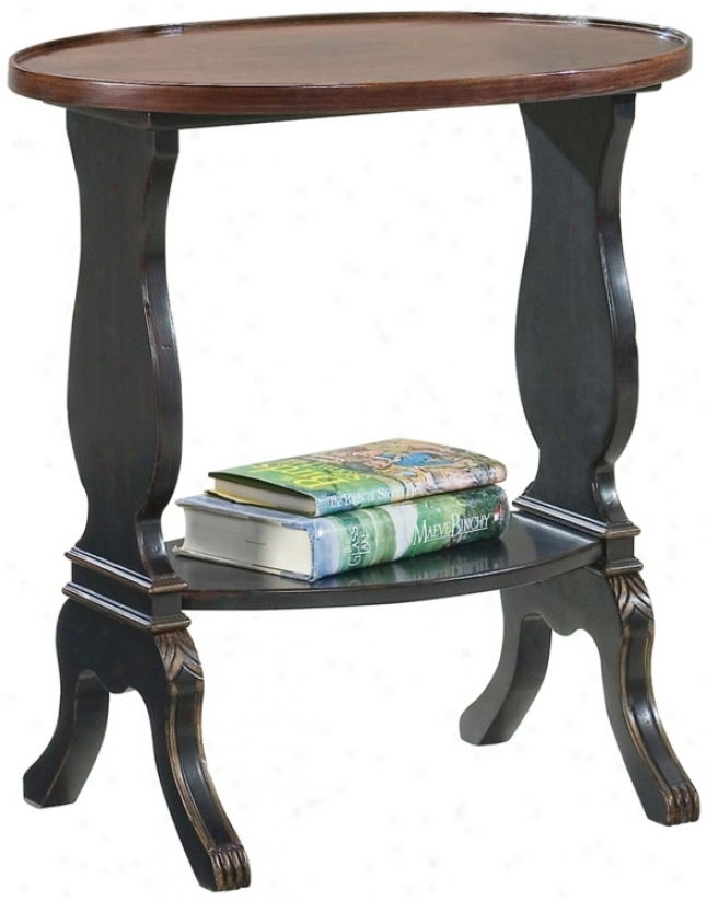 Regal Murky Wood Accent Table (u4775)