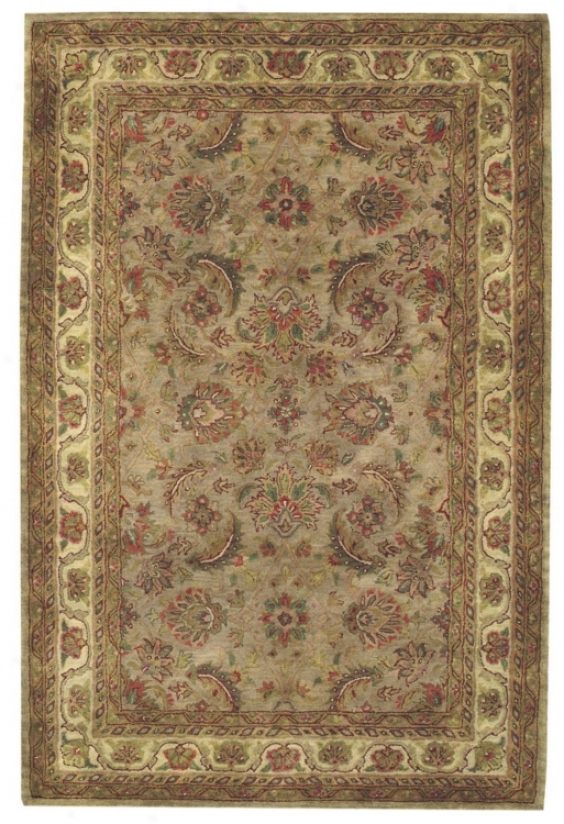 Regal Keshan Camel And Gold Area Rug (91545)