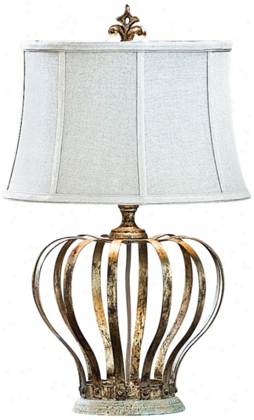Regina-andrew Royal Crown Table Lamp (v9420)