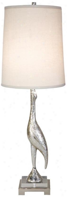 Regina-andrew Silver Prop Bird Buffet Lamp (v9349)