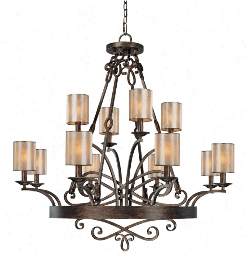 "Reserve Collection 12-light 41"" Wide Chandelier (r7473)"
