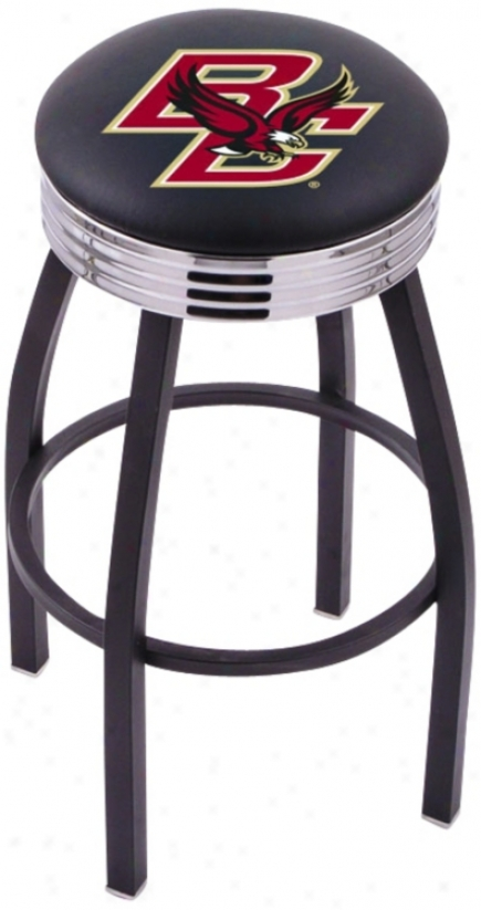 Retro Boston College Barstool (t8280)