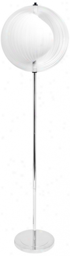 Reverb Chrome Floor Lamp (v1830)