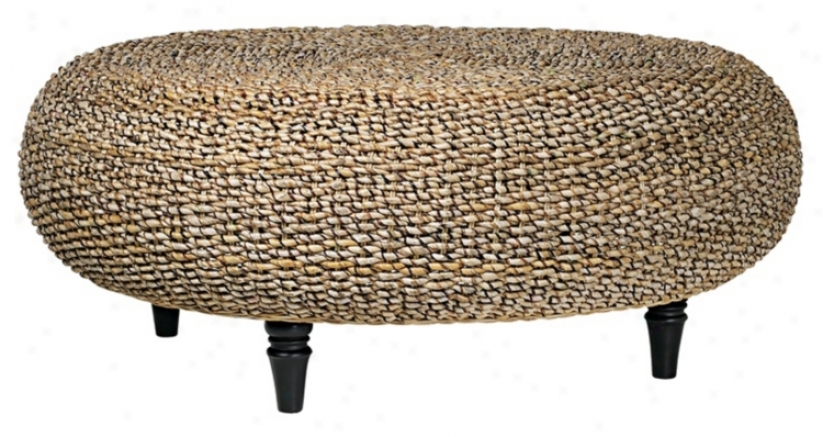 Riau Woven Fiber Round Coffee Table (46818)