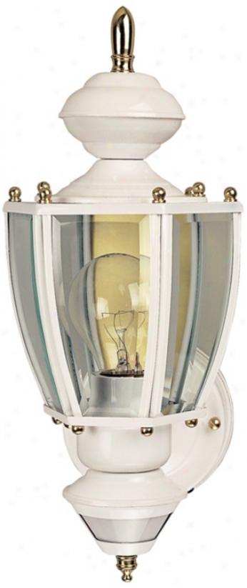 Richmond Coach White Energy Star® Exterior Wall Light (h7000)
