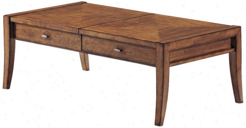 Riley Cinnamon Finish Cocktail Table (p1899)