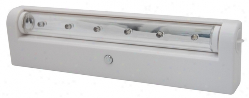 Rite Lite Battery Powered White Finish Under Cabinet Led (37026)