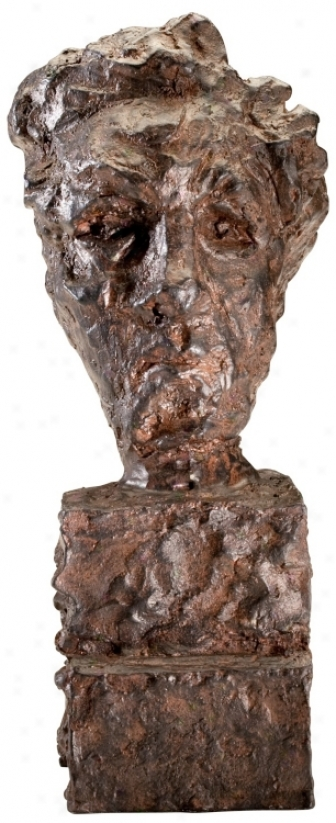 Rooman Acid Red Iron Sculpture (v1272)