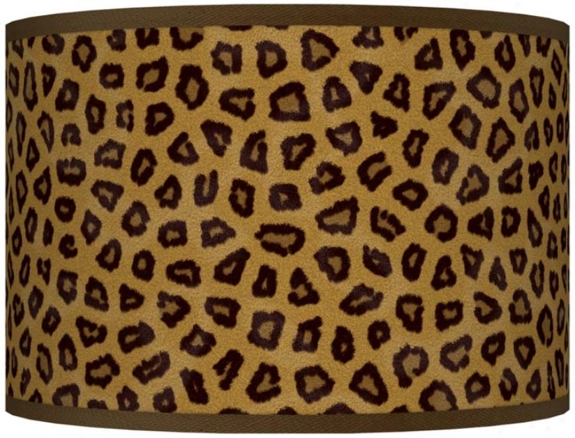 Safari Cheetah Giclee Shade 12x12x8.5 (spider) (j8517-r2297)
