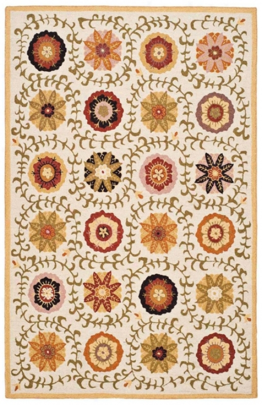 Safavieh Flower Blm951a Collection 8'x10' Area Rug (w1565)