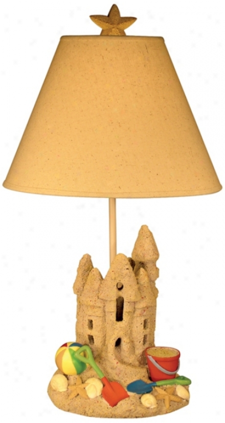 Sand Fortress Table Lamp (j2569)