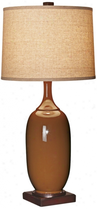 Sandstone Bottle Ceramic Table Lamp (r6136)