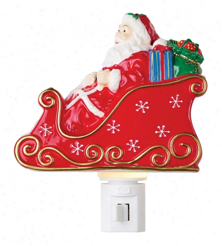 Santas Sleigh Night Light (227997)