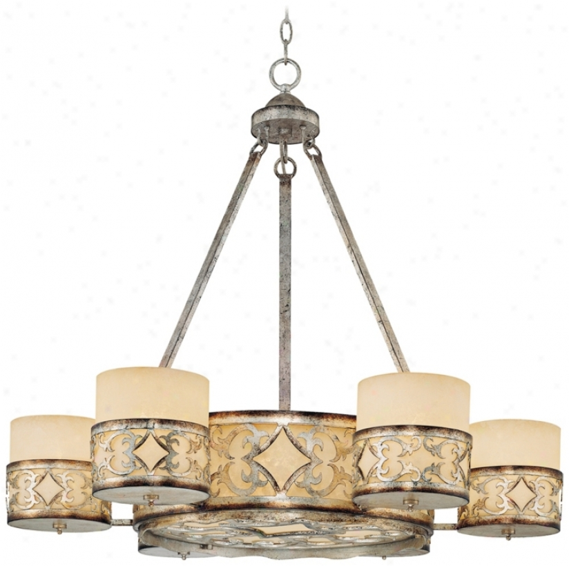 "Savoy House Champaign 35"" Wide Chandelier (p8874)"