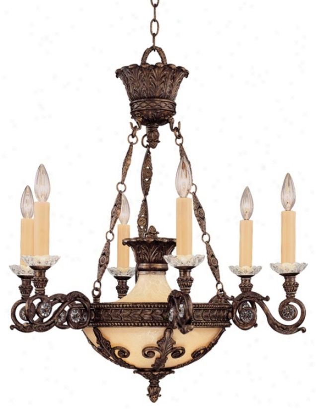 Savoy House European 6-light Chandelier (k0976)