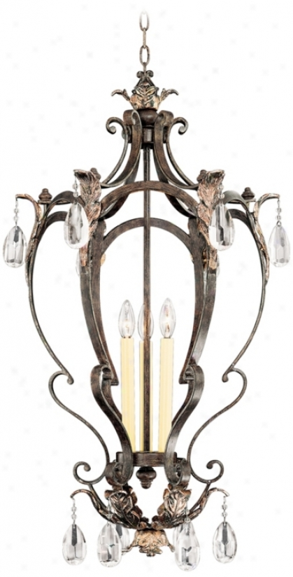 "Savoy House Hensley 19"" Wide Foyer Chandelier (p8908)"