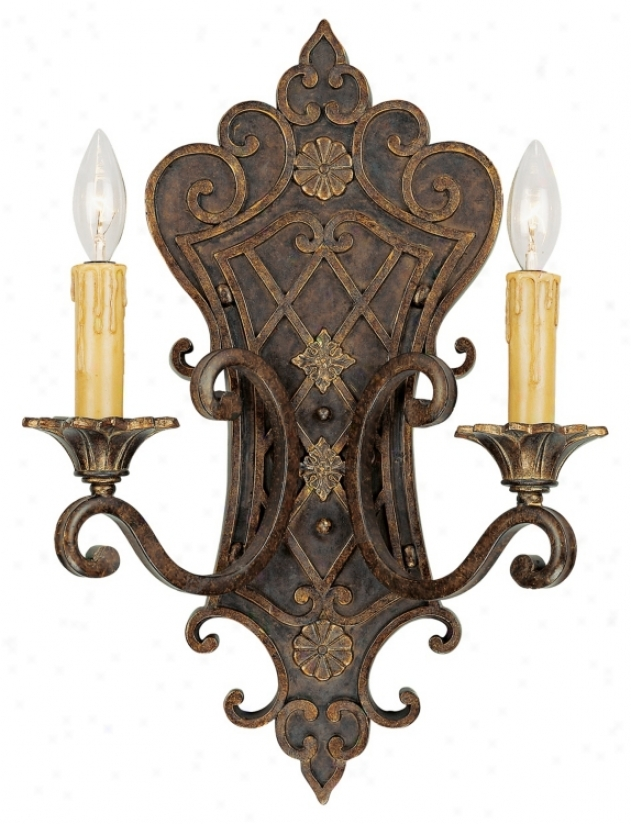 """Savoy House Sotherby 19"""" High Wall Sconce (k1020)"""