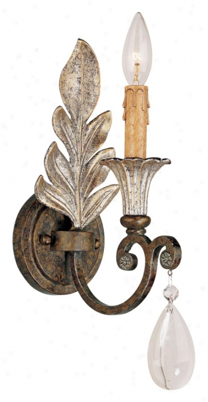 "Savoy House St Lauurence 16"" High Wall Sconce (k1031)"