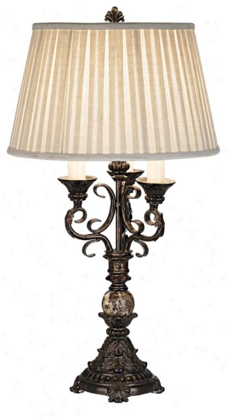 Scroll Arm Table Lamp (87204)