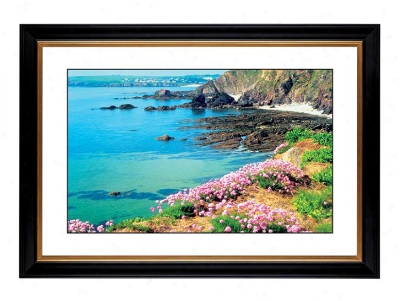 """Seawide Flowers Giclee 41 3/8"""" Wide Wall Art (56072-80384)"""