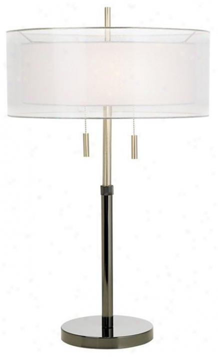 Seeri Double Shade Table Lamp (k4169)