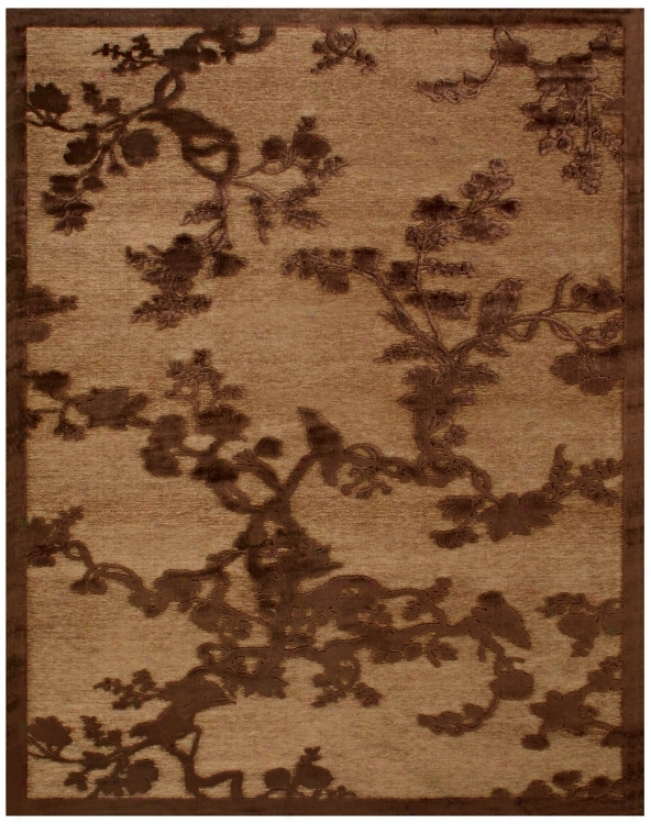 Segavio Coffee Area Rug (93387)