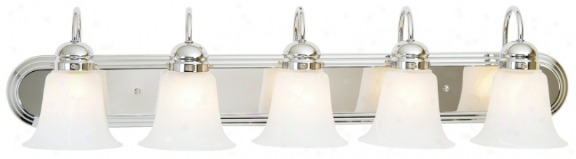 "Seneca Collection 36"" Wide Bathroom Light Fixture (77958-87743)"