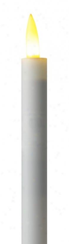 Set Of 2 Feeling's Flame Led Electric Candle 3 Watt Bulbs (r4440)