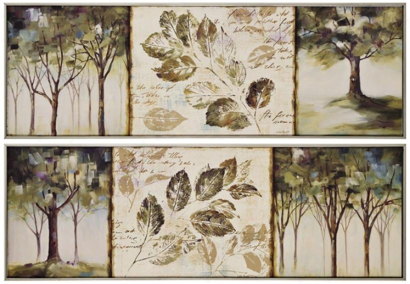 Set Of 2 Hopes I & Ii Framed Wall Art (k2715)