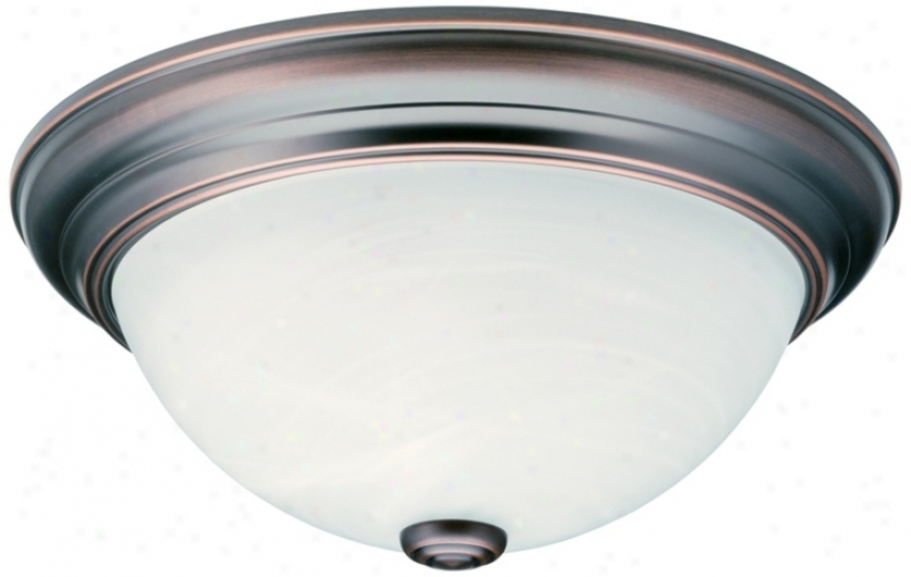 "Sheffiwld Enetgy Star® 11"" Wide Ceiling Light Fixtur3 (16674)"