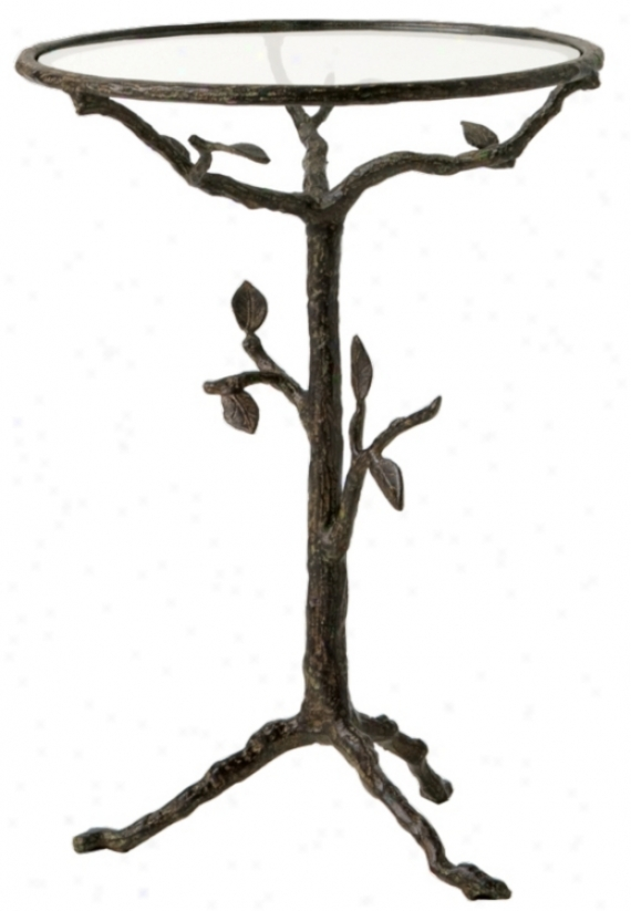Sherwood Iron Accent Table (f7906)