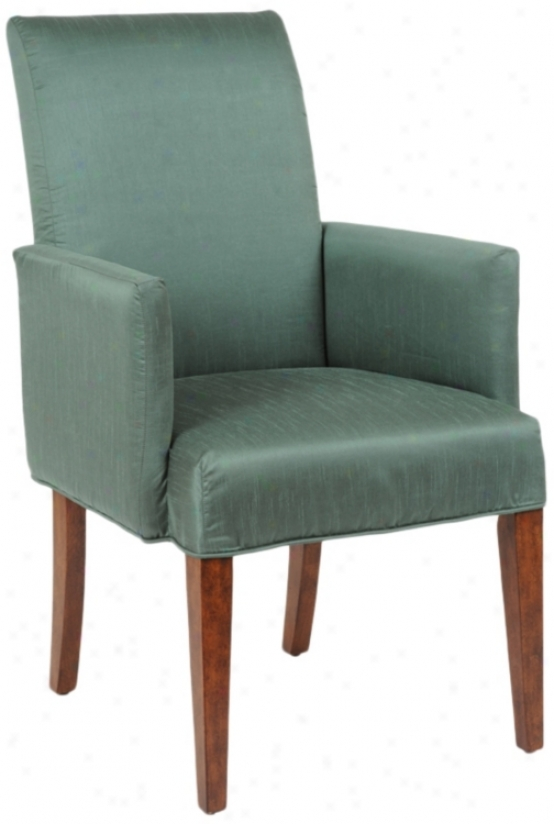 Shore Slipcovered Parsons Cherry Leg Power Chair (t6053-t5337)