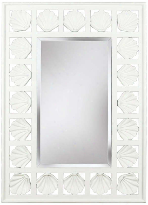 """Shoreline Antique Pure 32"""" High Wall Pattern (t5054)"""