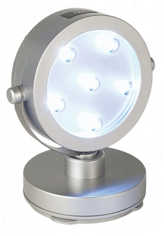 Single Head Led Battery Operated Spot Light (93723)