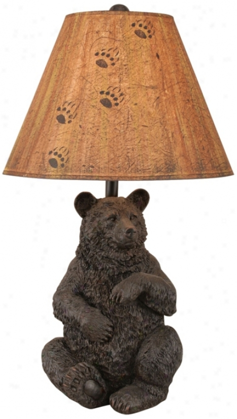 Sitting Bear Table Lamp (l4007)