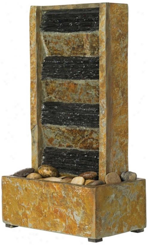 "Slate 18"" High Tabletop Fountain (n5195)"