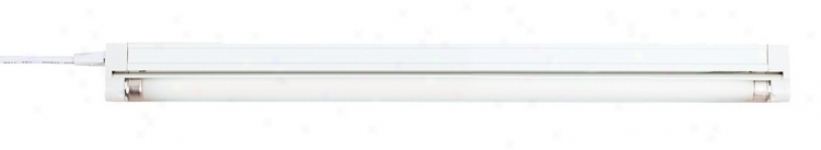 "Sleek Plus 9 1/2"" Wide Fluorescent Under Cabinet Light (60575)"