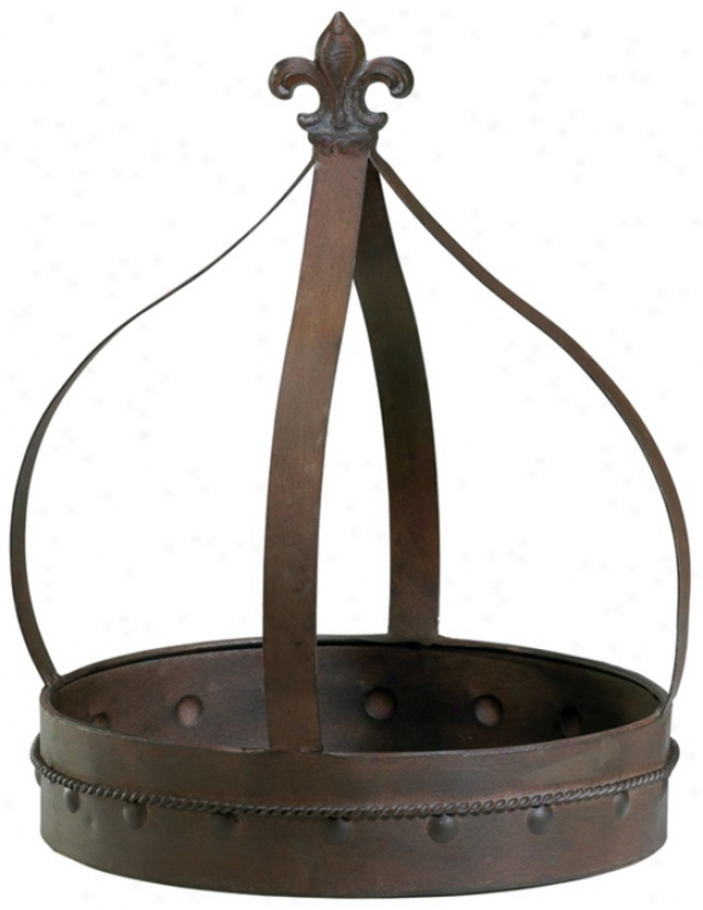 Small Aged Gather ~ Open Iron Crown (v1328)