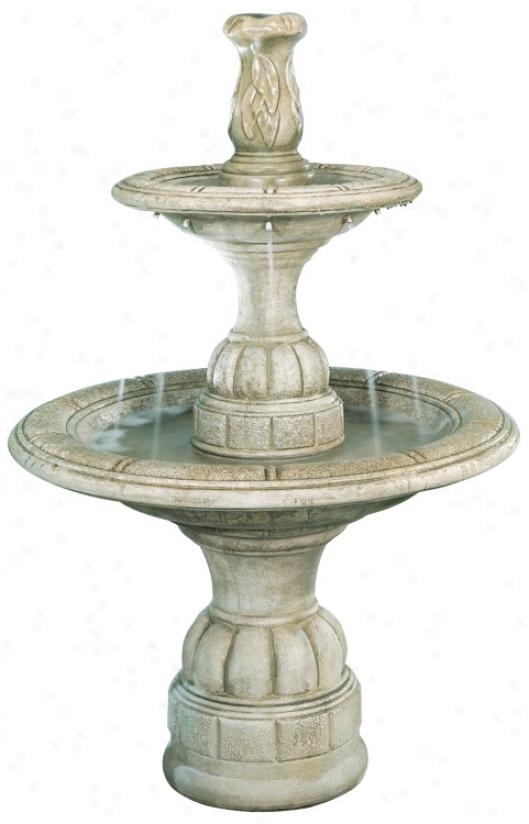 Small Contemporary Tier Fountain (96458)