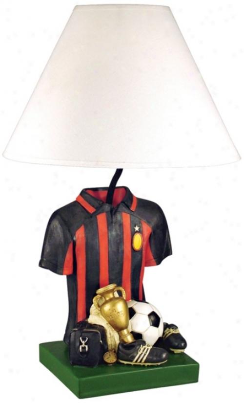 Soccer Shirt Table Lamp (j2575)