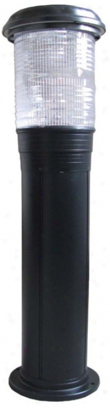 Solar Powered Bollard Outdoor Landscape Light (m9188)